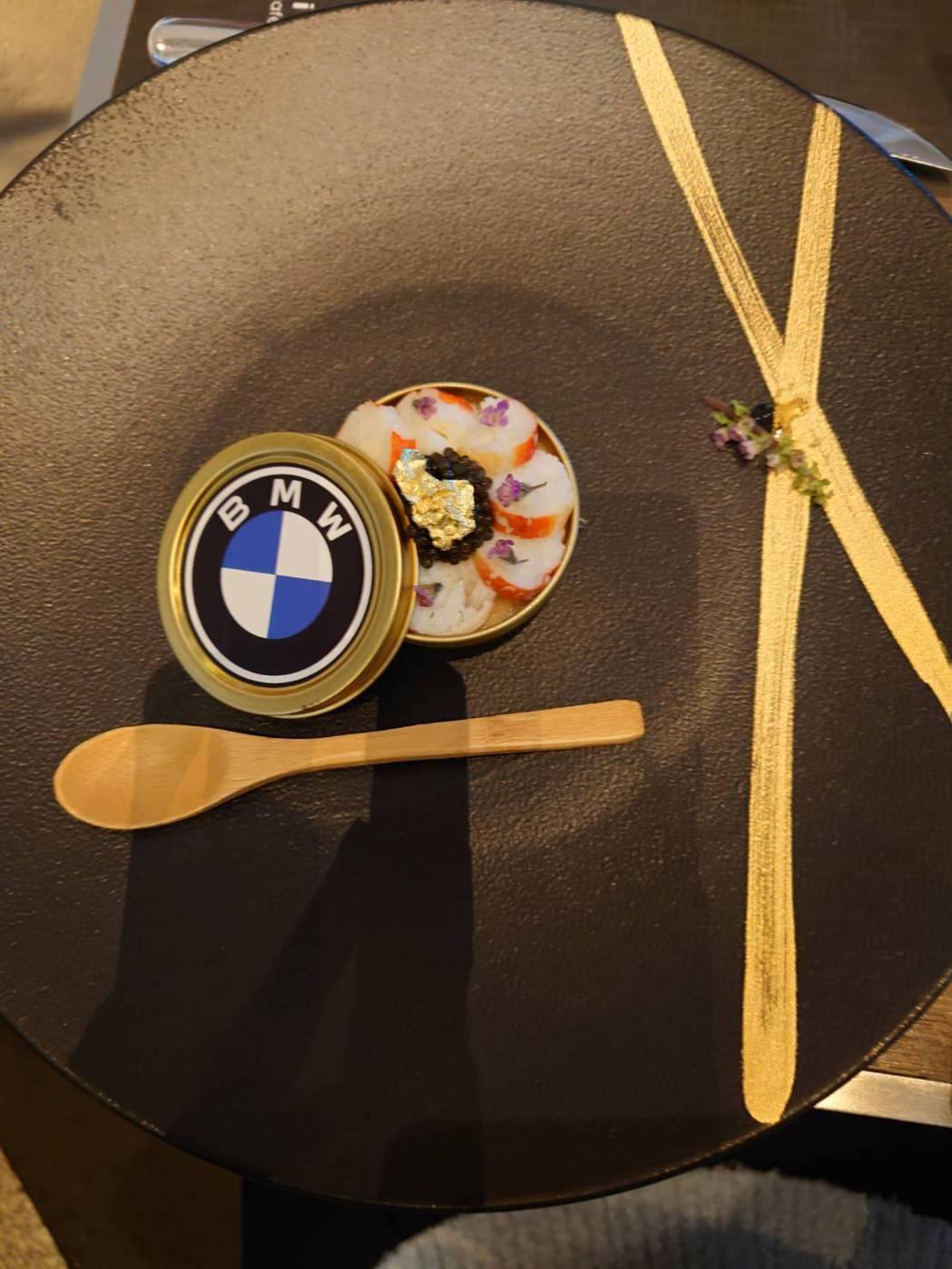法籍行政主廚-博雅維(Xavier Boyer)監製,以BMW Luxury C...