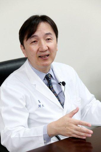 馬偕醫院總院副院長洪大川 記者邱德祥/攝影