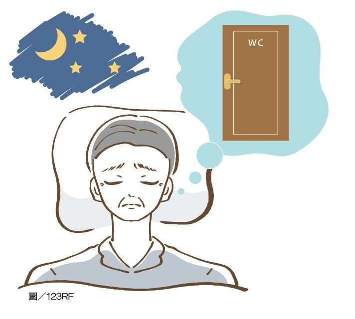夜間多尿影響睡眠品質。圖/123RF