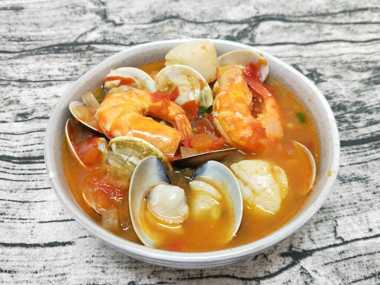 番茄海鮮湯 圖/陳芸英