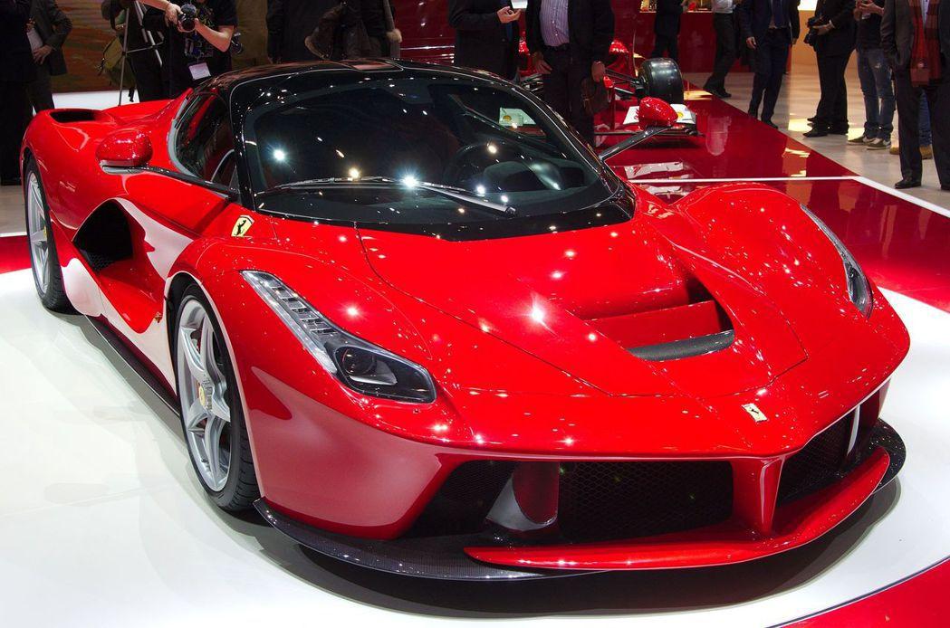 真正的法拉利LaFerrari為限量生產的跑車,售價超過100萬美金(約新台幣2...