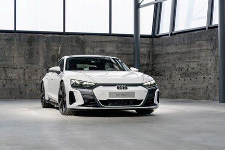 四環品牌純電跑車即將來襲 全新Audi e-tron GT真面目發表前先曝光啦!