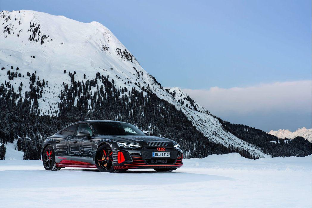 全新Audi e-tron GT即將發表。 摘自Audi