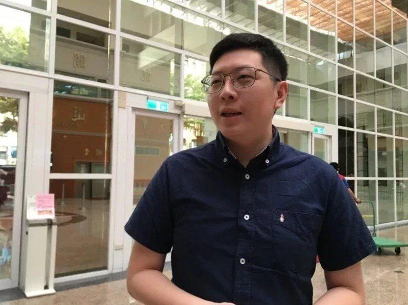 桃園市前議員王浩宇。 圖/聯合報系資料照片