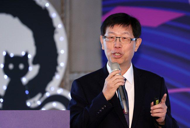 圖為鴻海董事長劉揚偉。(本報系資料庫)