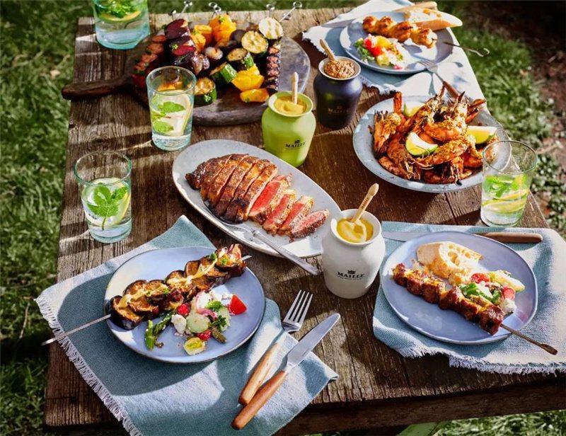 第戎芥末醬屬Maille老牌最有名 和烤肉絕配 / 來源:maille