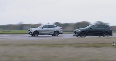 影/機械增壓才是王道?改裝F-Pace SVR大戰BMW X6 M