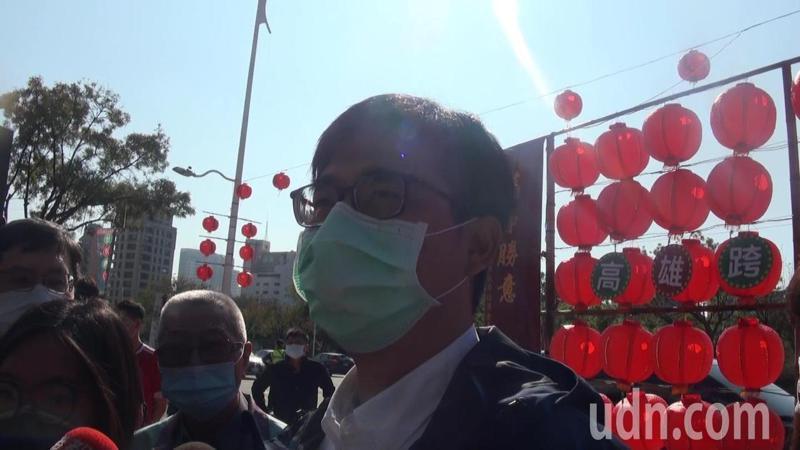 陳其邁表示,罷免投票也是公民權的行使,不管同不同意,都趕快去投票。記者王昭月/攝影