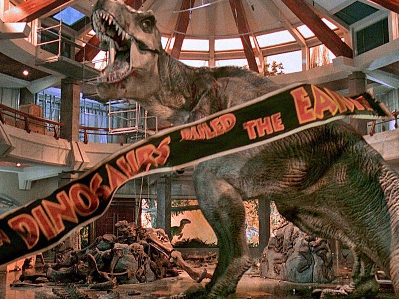自發現超過一世紀以來,暴龍(Tyrannosaurus rex)已成為名氣最響亮、相關研究也最多的恐龍,一部分要歸功於電影「侏儸紀公園」系列。圖/取自UNIVERSAL PICTURES