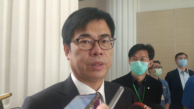 高雄市長陳其邁。 本報資料照片