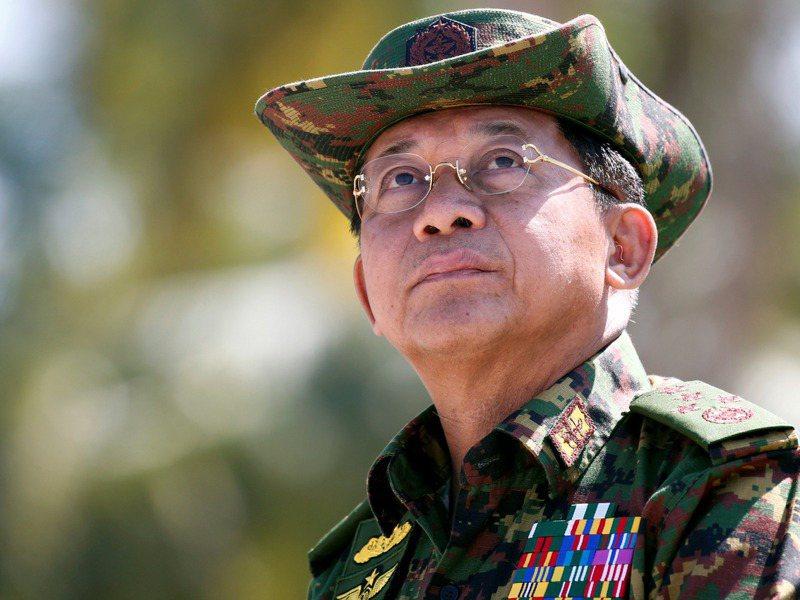 緬甸武裝部隊總司令敏昂萊,1日以大選舞弊為由,發動軍事政變,逮捕扣押緬甸國務資政、實質領導人翁山蘇姬。 路透