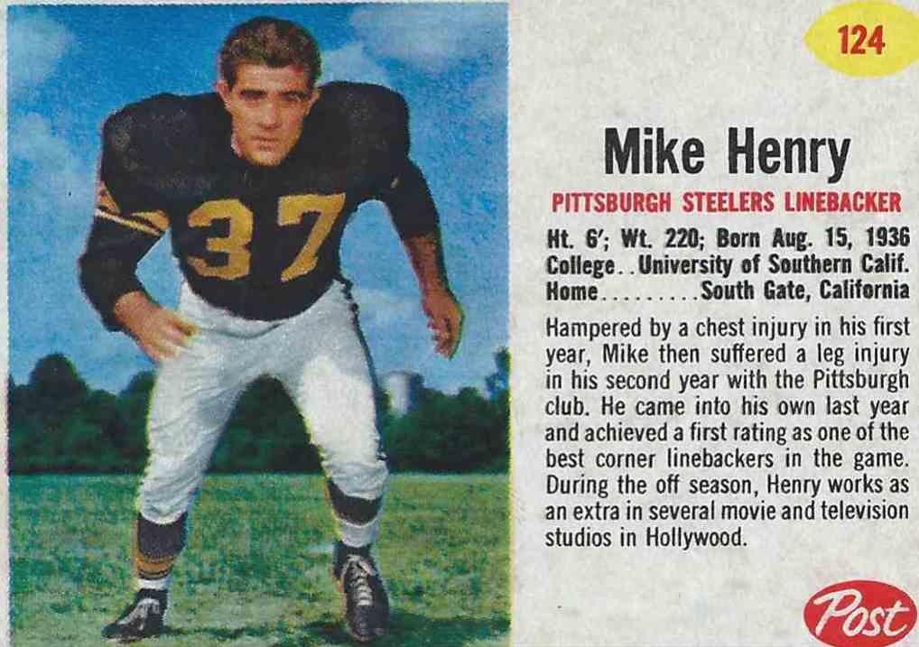 麥克亨利沒當演員前是美式足球隊員。圖/摘自pinterest