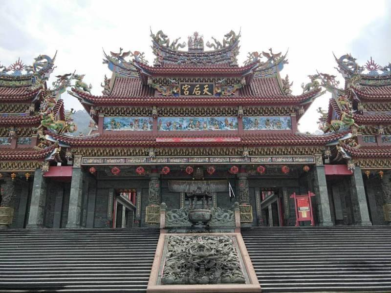 三峽紫微天后宮是當地信仰中心之一,從雲林虎尾天后宮「分香」建廟。記者江婉儀/攝影