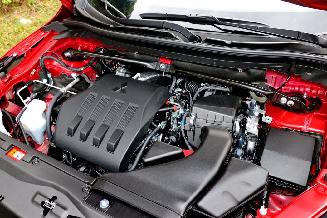 Eclipse Cross搭載1.5T缸內直噴渦輪引擎,動力數據為163hp/2...