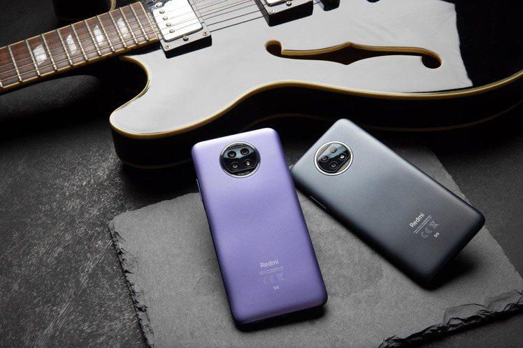 Redmi Note 9T 5G推出晨曦紫、日暮黑兩色,4GB+64GB單機價6...
