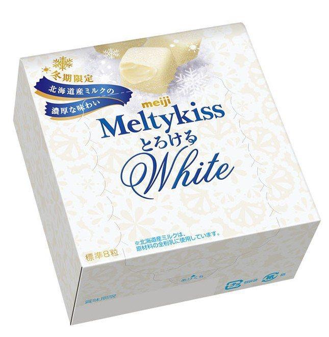 「明治Meltykiss代可可脂白巧克力」售價79元,7-ELEVEN即日起至2...