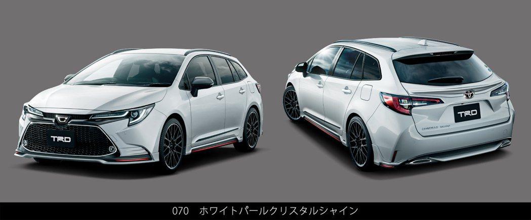 日規Toyota Corolla Touring搭載TRD套件。 摘自Toyot...
