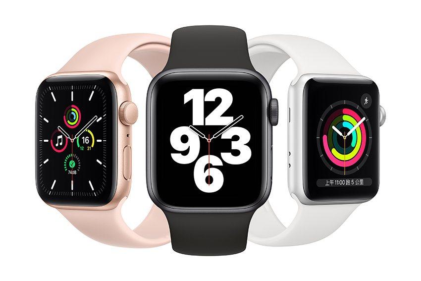 Apple Watch SE。 新光三越桃園站前店/提供