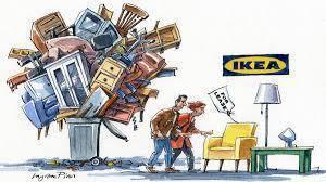 IKEA的買回家具計畫讓專家懷疑是否真的促進環境永續發展。(photo from ft.com on google)