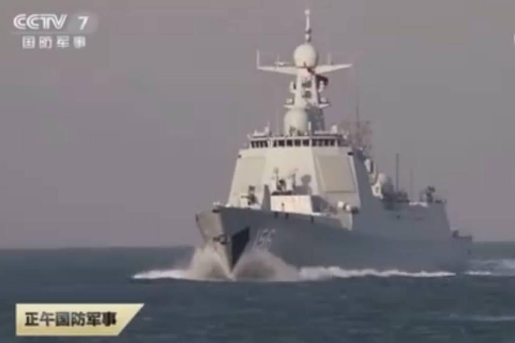 解放軍近期在渤海、黃海、東海三大海域密集演習。(央視)