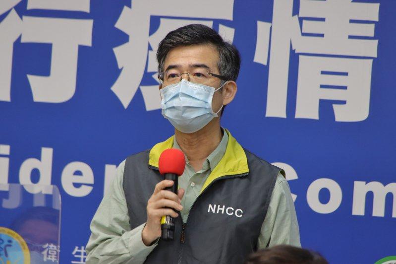 衛福部桃園部立醫院院長徐永年。圖/指揮中心提供
