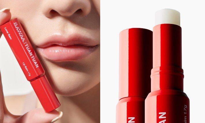 SAWAA x 團團月相護唇膏預計於2月9日上市。圖/團團提供