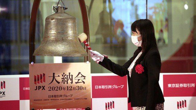 日股去年遭遇外資賣超6兆日圓(580億美元),日經225指數依舊上漲16%。(本...