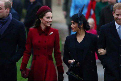 英國威廉、哈利兩位王子與各自妻子凱特、梅根間的關係,始終是各界矚目焦點。哈利盛傳為了梅根和哥哥威廉產生心結,威廉則對梅根打從一開始就不怎麼接受,連帶他的妻子凱特和梅根之間也只有客套的禮貌,並沒有真正...