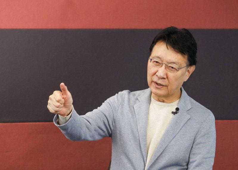 中廣董事長趙少康重返國民黨之後,今天接受聯合報專訪表示,他將爭取代表國民黨參選2024年總統大選。記者鄭超文/攝影