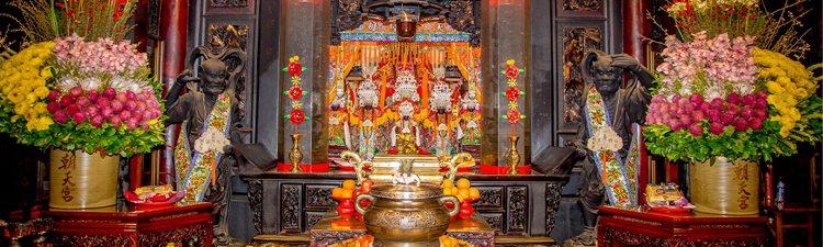 北港朝天宮是台灣規模最大的媽祖廟。圖/摘自北港朝天宮官網
