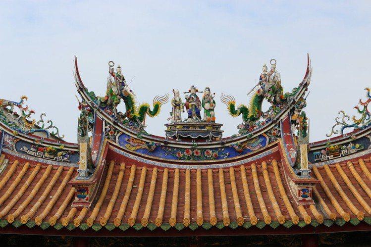 台灣府城隍廟,適合春節祈求整年好運氣。圖/摘自台灣府城隍廟官網