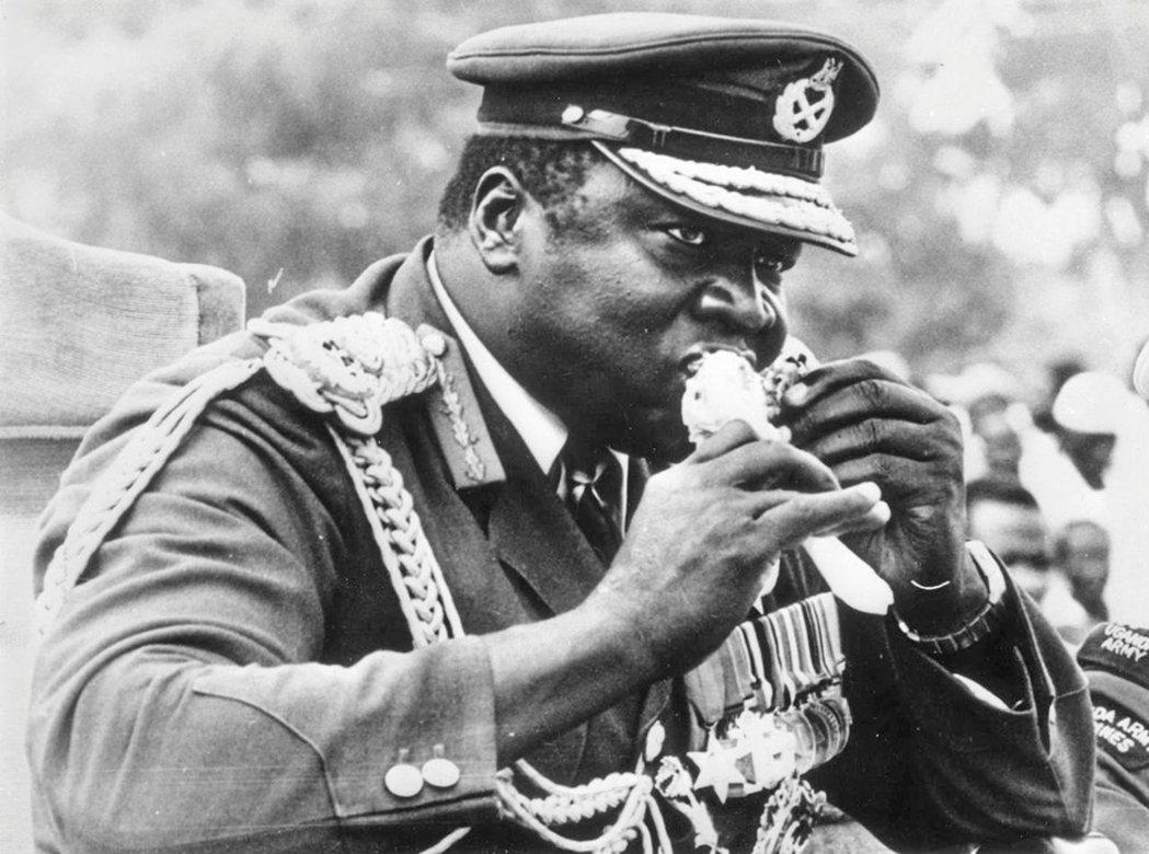 「飲食即是權力,食物即是力量。」圖為烏干達的大獨裁者,阿敏。 圖/維基共享
