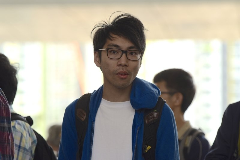 2019年,鍾耀華遭到法院判刑徒刑八個月,緩刑兩年,也是媒體稱「佔中九子」的其中一人。 圖/中通社
