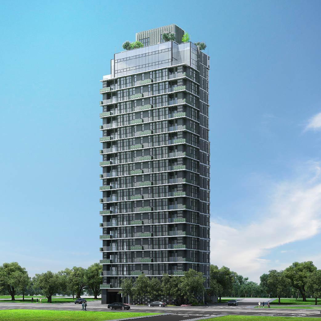 圖說:富邦醴仁3D建築外觀。