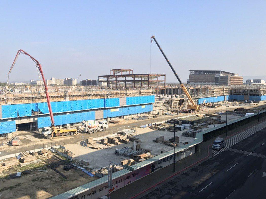 台南高鐵特區有別於多數重劃區,交通建設率先到位。(圖/業者提供)