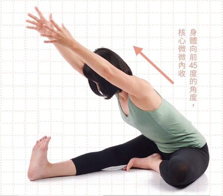 圖/摘自《養氣經絡瑜伽》
