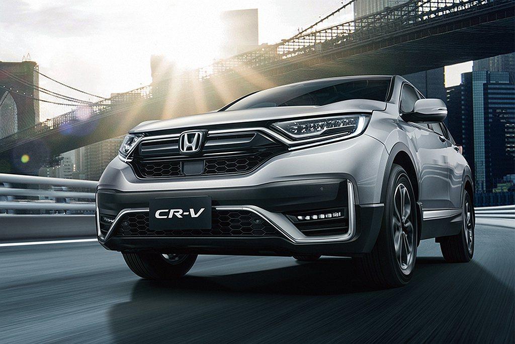 Honda CR-V去年共銷售705,651輛,雖然表現不錯但只能排在第二名。 ...