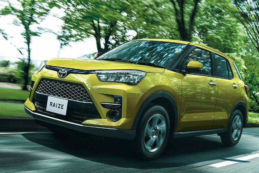 Toyota Raize都會跨界休旅去年上半年以強勢的銷量奪下數月銷售冠軍,但後...