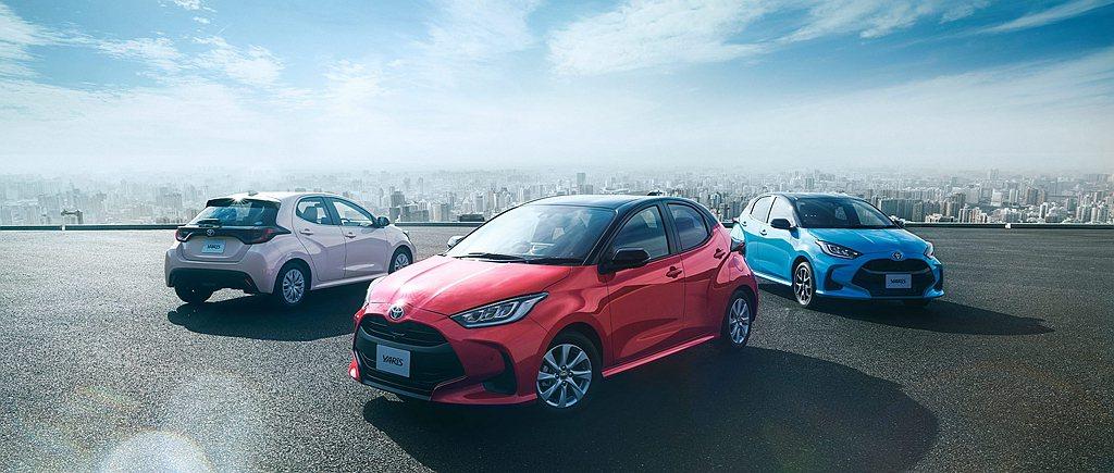 新世代Toyota Yaris去年在日本市場共賣出151,766輛成績。 圖/T...
