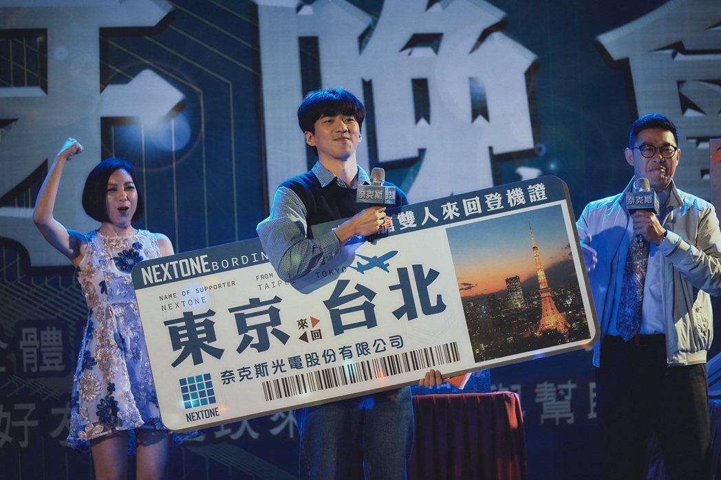 由傅孟柏飾演的理工男趙書維,情感走向是觀眾好奇之處。 圖/華納兄弟提供
