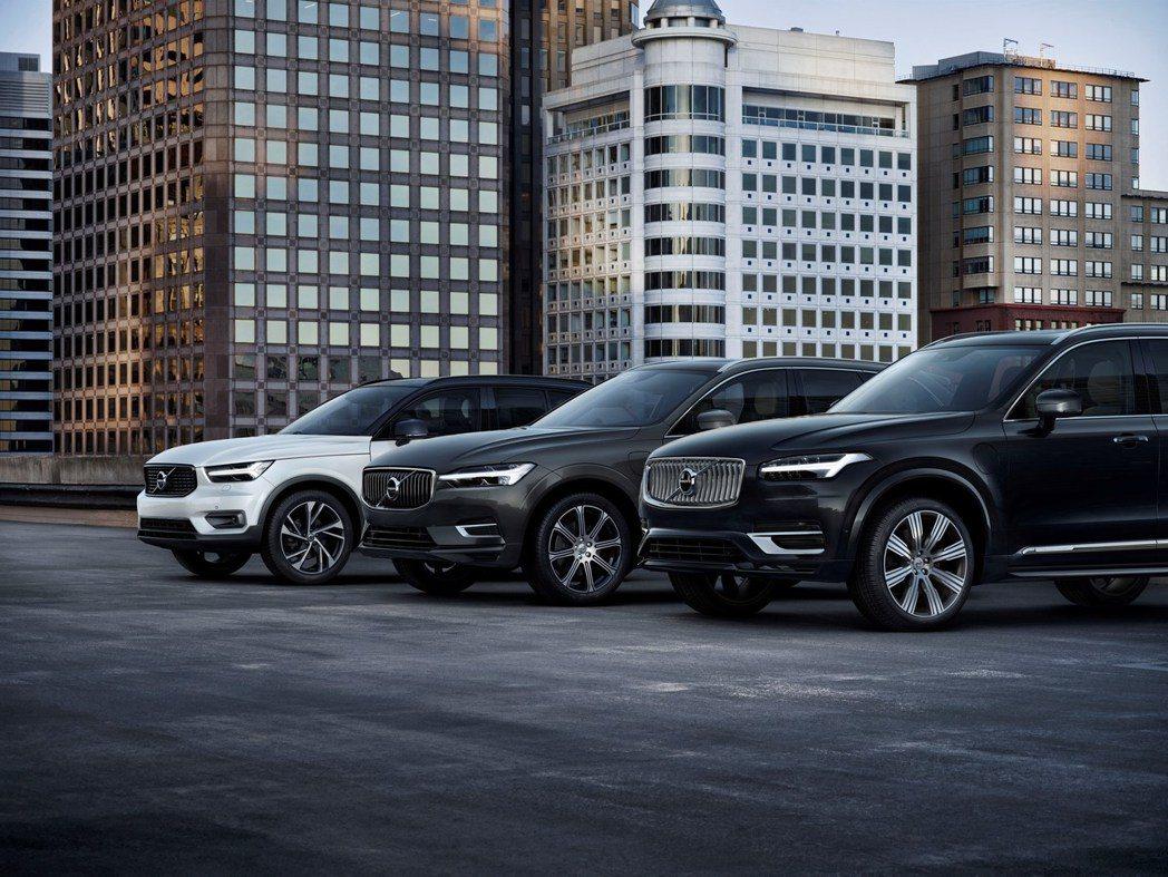 Volvo XC休旅三兄弟是品牌銷量能夠不斷提升的重要角色。 摘自Volvo