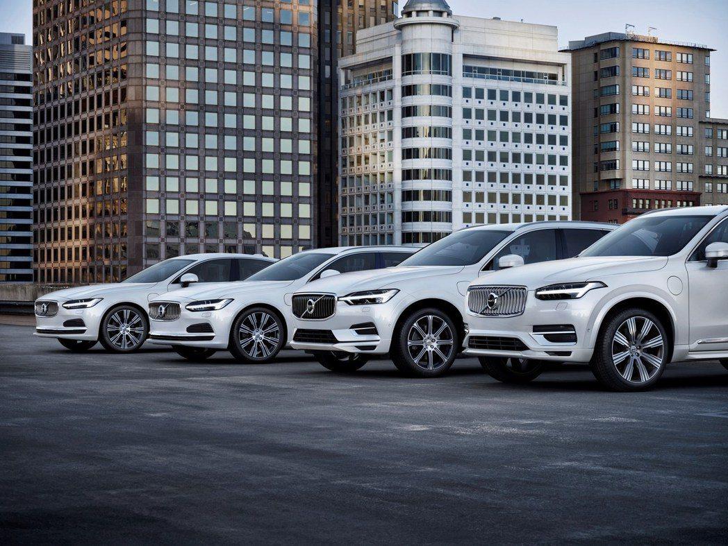 Volvo今年一月份於全球的銷量將近六萬輛。 摘自Volvo