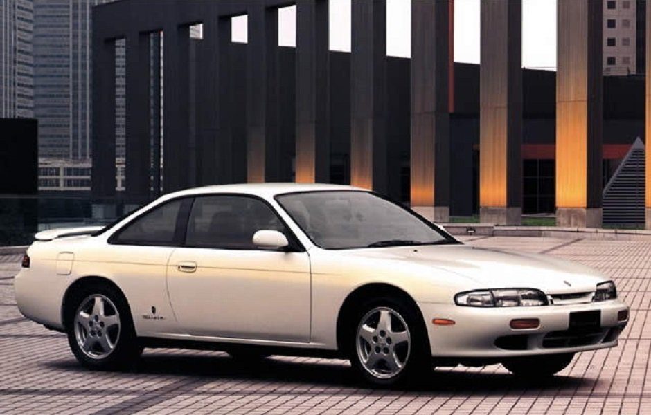 Nissan Silvia S14(前期)。 摘自Nissan