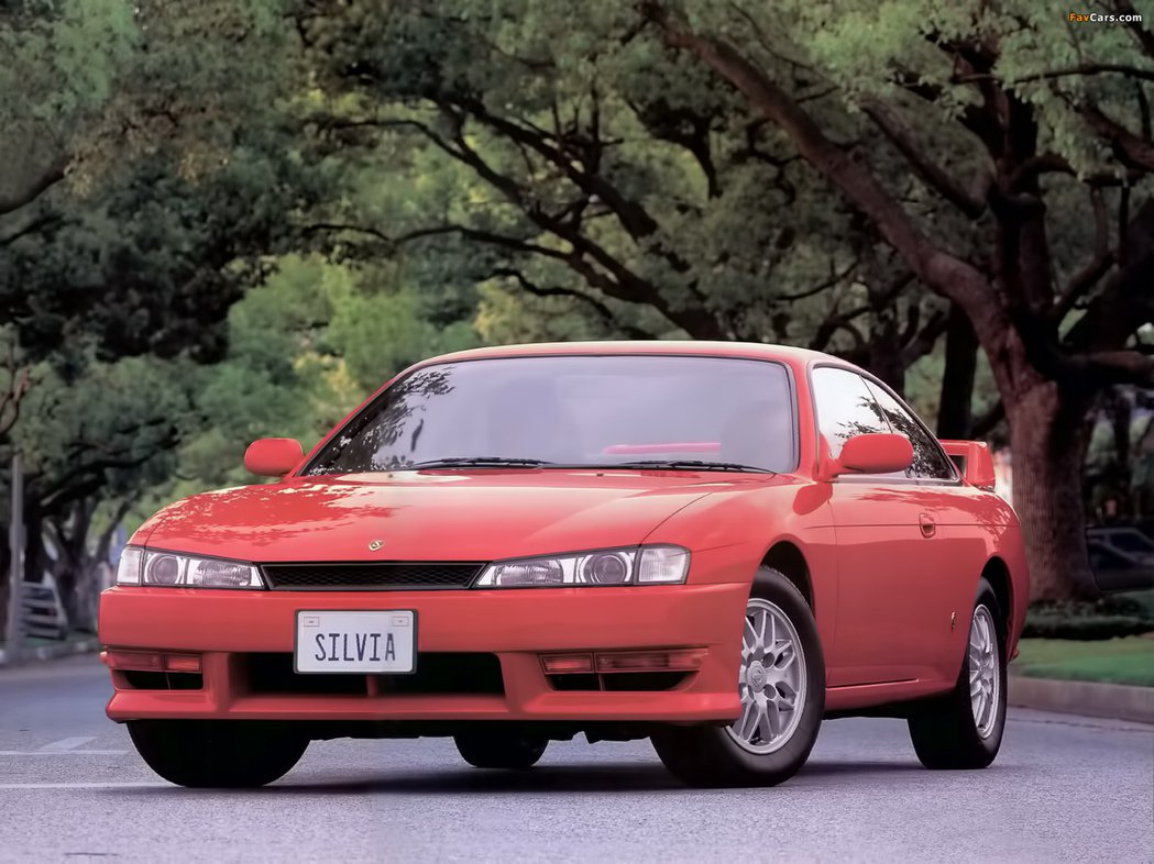 Nissan Silvia S14(後期)。 摘自Nissan