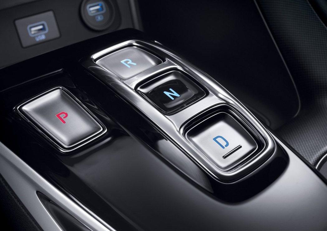 按鈕式排檔座。 摘自Hyundai