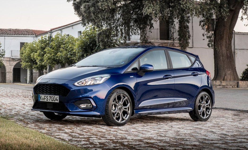 Ford Fiesta則是以藍色為大宗。 摘自Ford