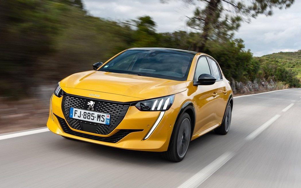 Peugeot 208為最多人選擇黃色的車款。 摘自Peugeot