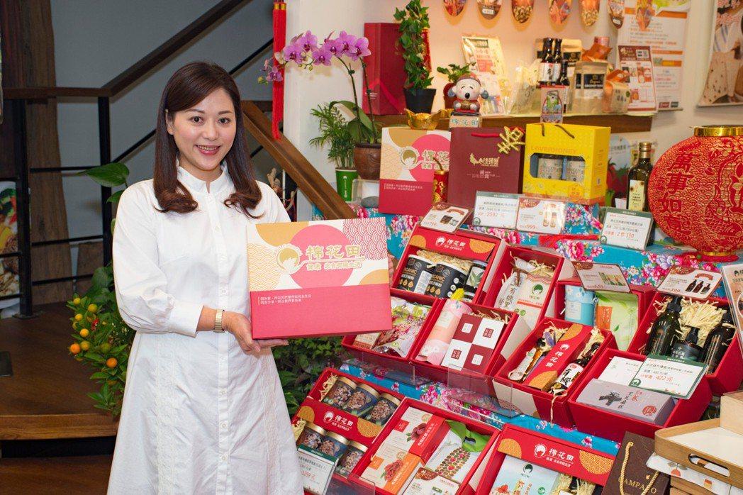 棉花田推出多樣有機禮盒,送禮更兼顧健康。棉花田/提供