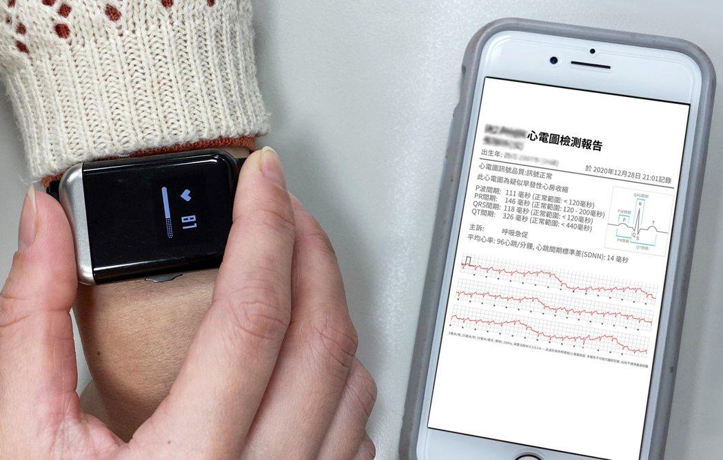 穿戴心電圖記錄器手錶獲台灣精品獎肯定,Android 及iOS 雙平台用戶皆可下...