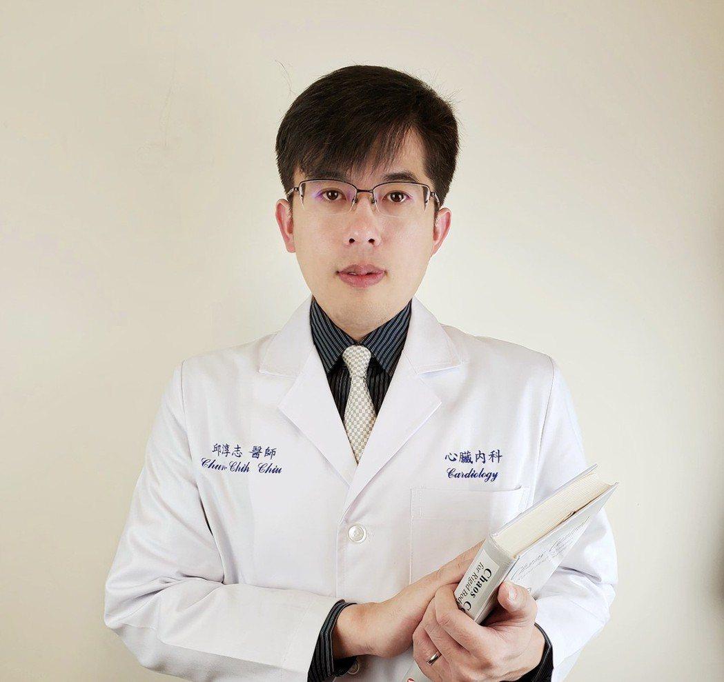 雙和醫院心臟內科病房主任邱淳志醫師提醒,糖尿病、高血壓等三高族群和心律不整患者為...